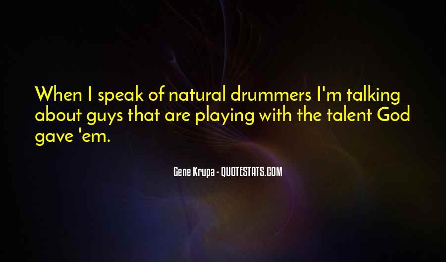 Gene Krupa Quotes #195592