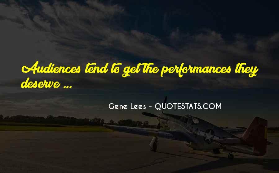 Gene Lees Quotes #870936