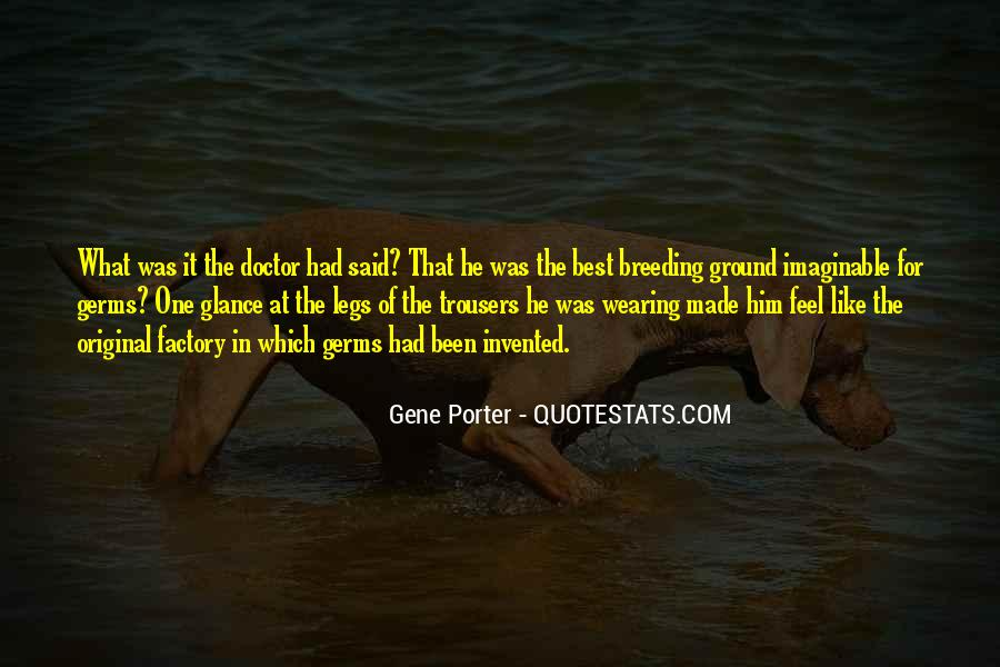 Gene Porter Quotes #598517