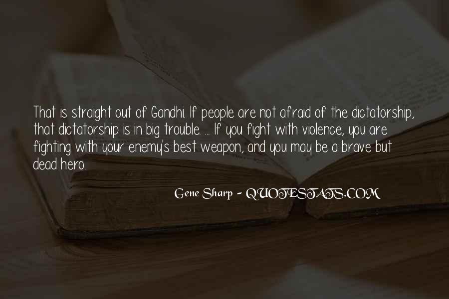 Gene Sharp Quotes #1094672