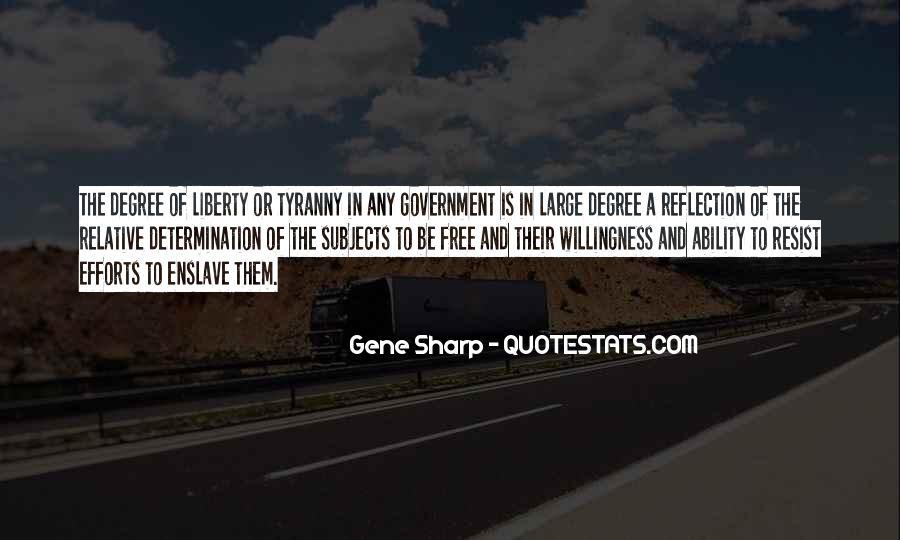 Gene Sharp Quotes #1251956