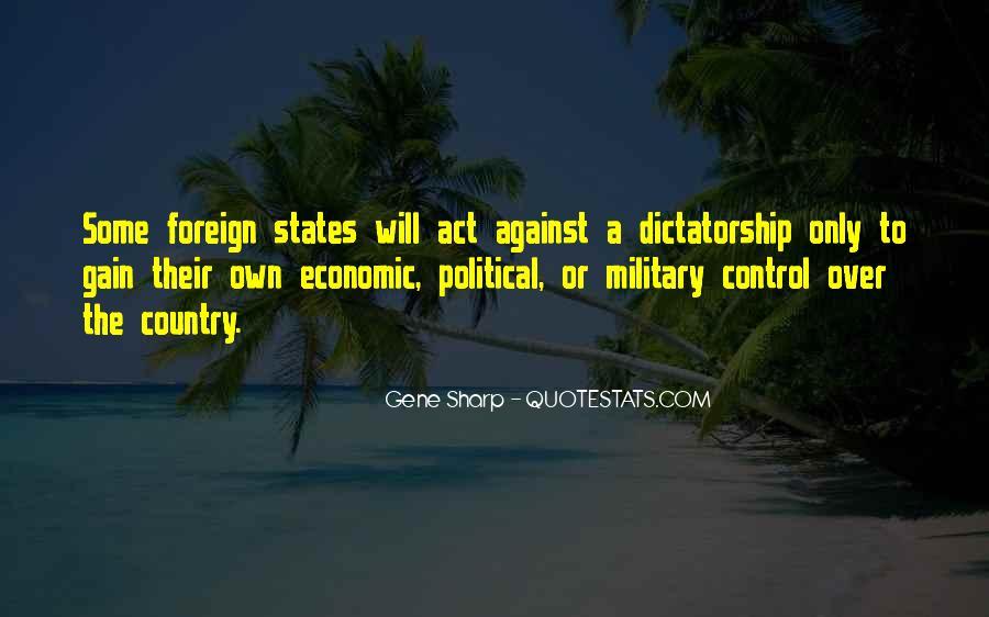 Gene Sharp Quotes #17413
