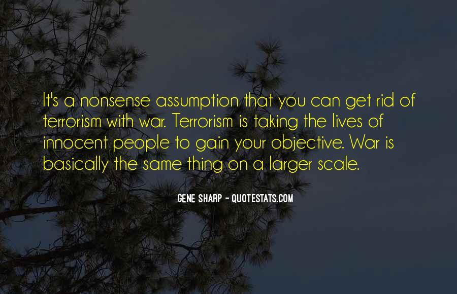 Gene Sharp Quotes #254391