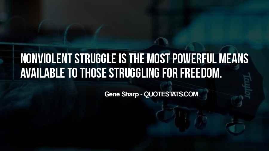 Gene Sharp Quotes #306010