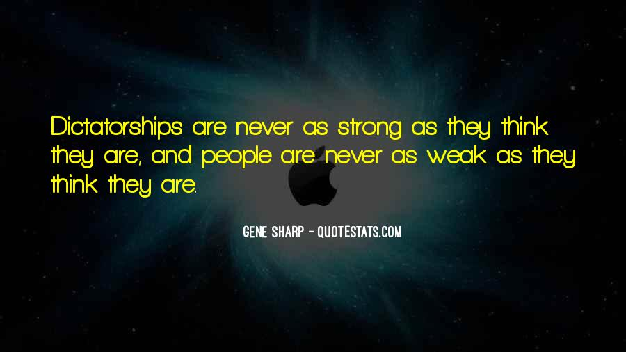 Gene Sharp Quotes #309185