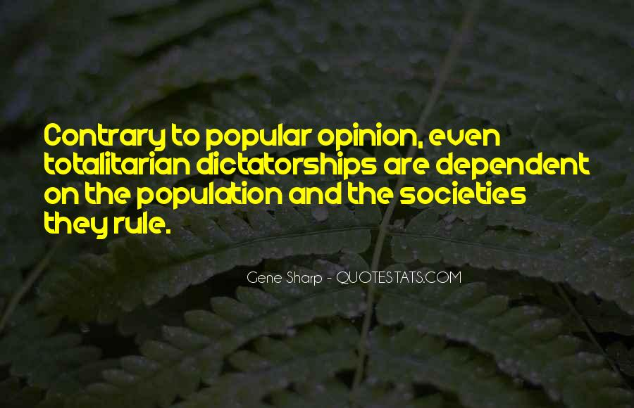 Gene Sharp Quotes #844175