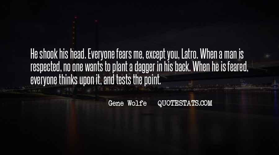 Gene Wolfe Quotes #1537430
