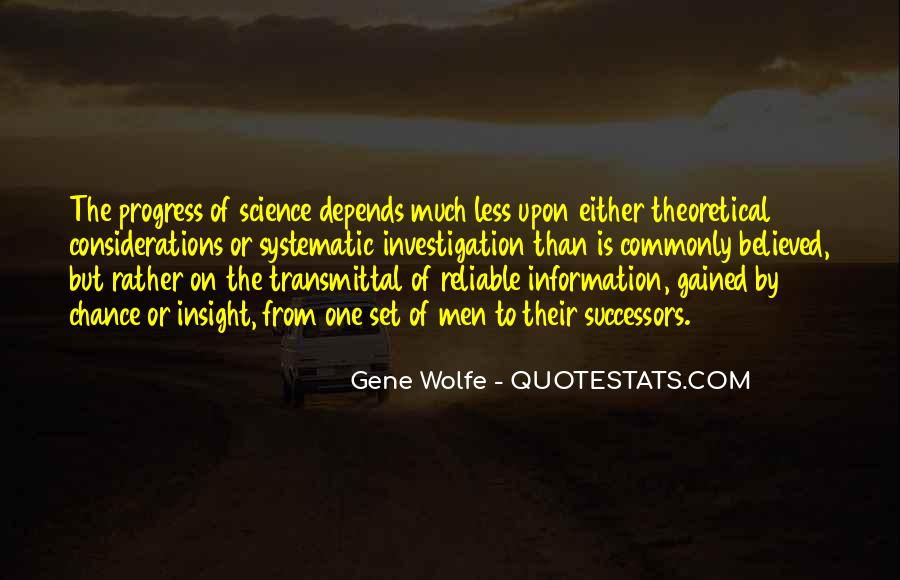 Gene Wolfe Quotes #1747743