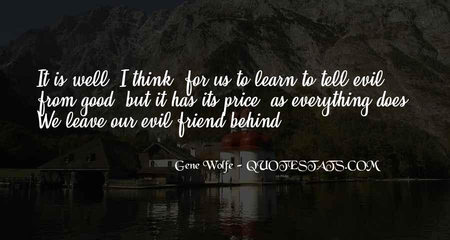 Gene Wolfe Quotes #27248