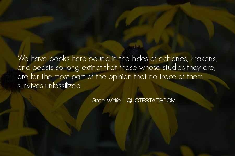 Gene Wolfe Quotes #649266