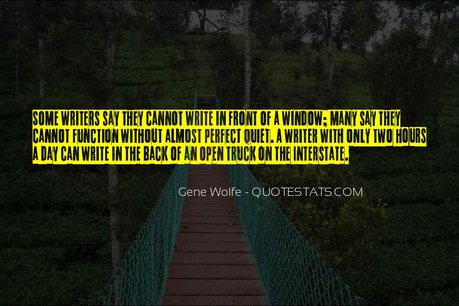 Gene Wolfe Quotes #792657