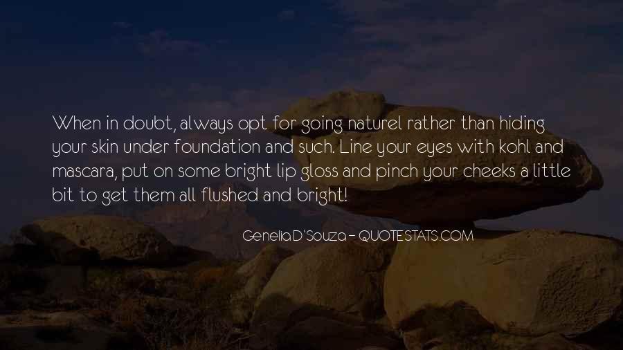 Genelia D'Souza Quotes #1842527