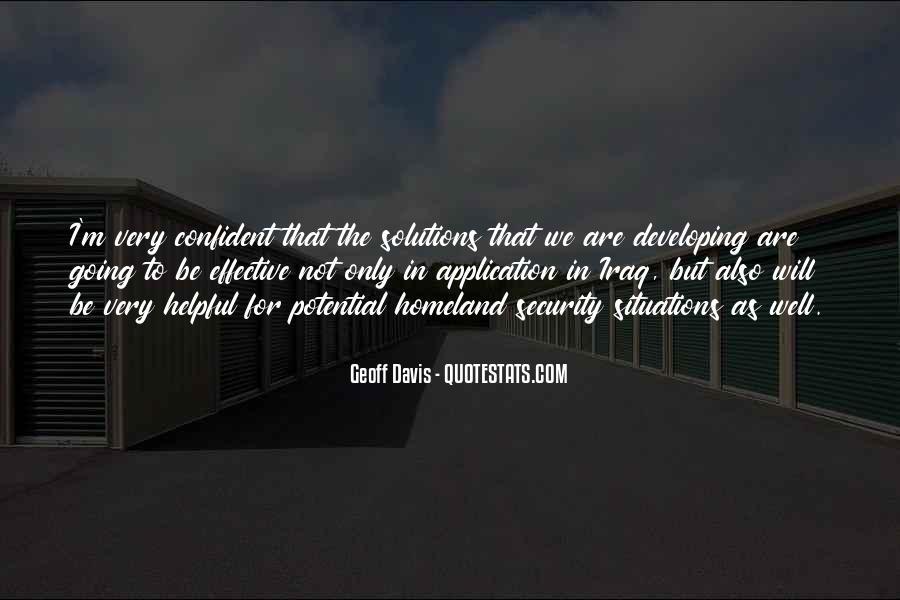 Geoff Davis Quotes #1233488