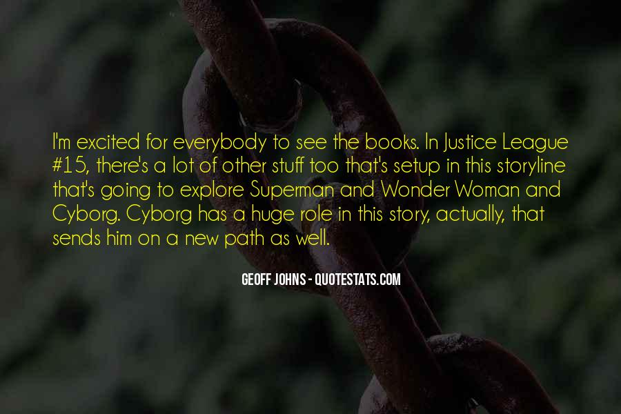 Geoff Johns Quotes #1022543