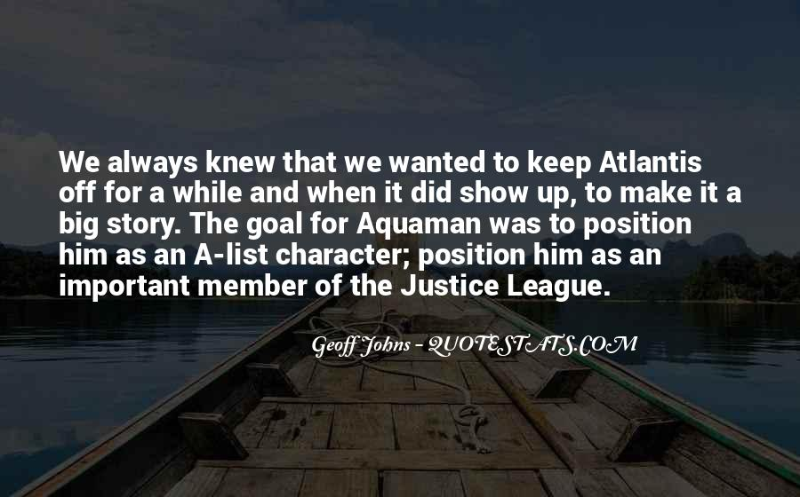 Geoff Johns Quotes #1224286