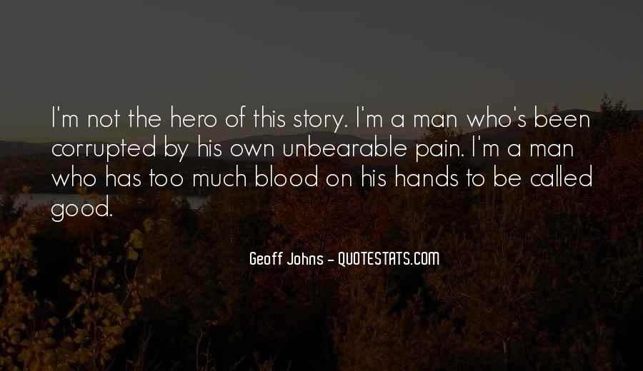 Geoff Johns Quotes #1511702