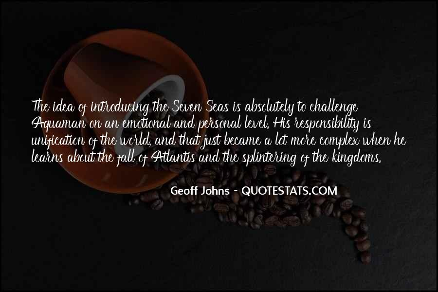 Geoff Johns Quotes #1598102