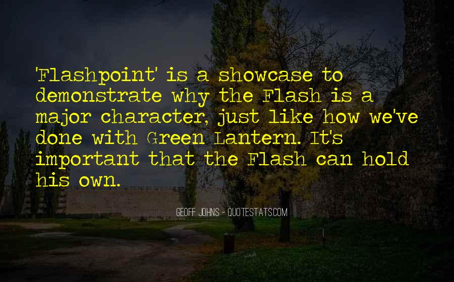 Geoff Johns Quotes #1773831
