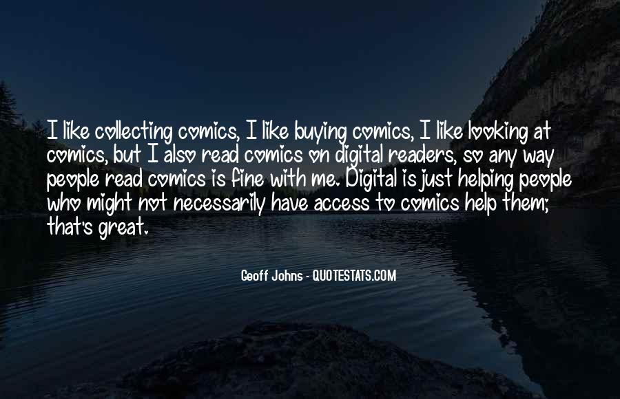 Geoff Johns Quotes #234936