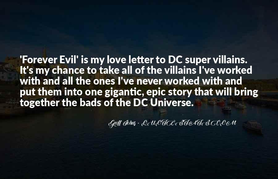 Geoff Johns Quotes #446510
