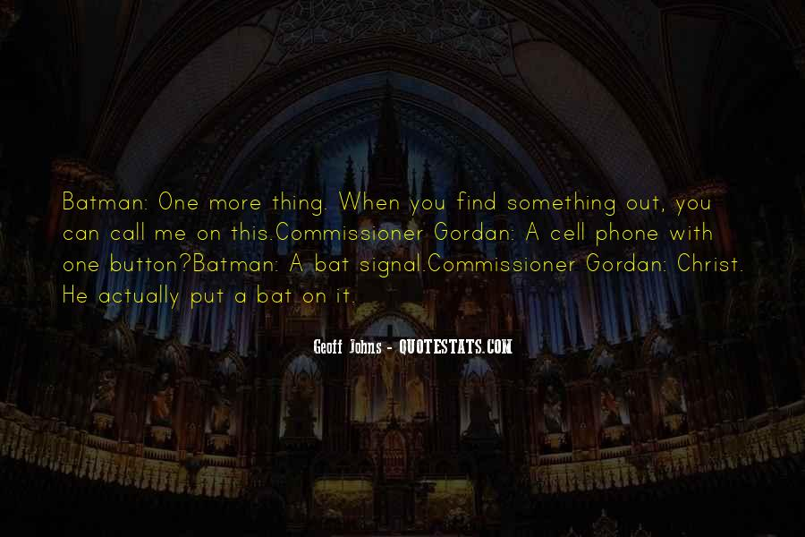 Geoff Johns Quotes #476079