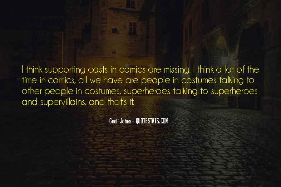 Geoff Johns Quotes #695509