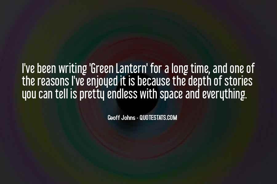 Geoff Johns Quotes #770684