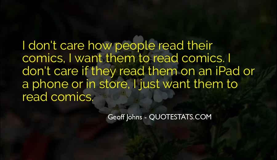 Geoff Johns Quotes #991591