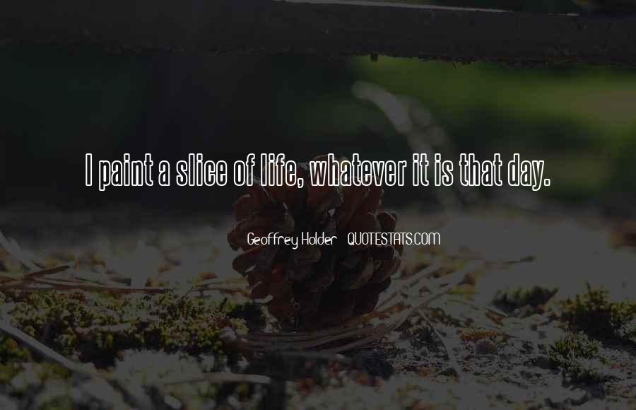 Geoffrey Holder Quotes #1374166