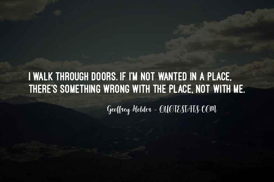 Geoffrey Holder Quotes #1377300