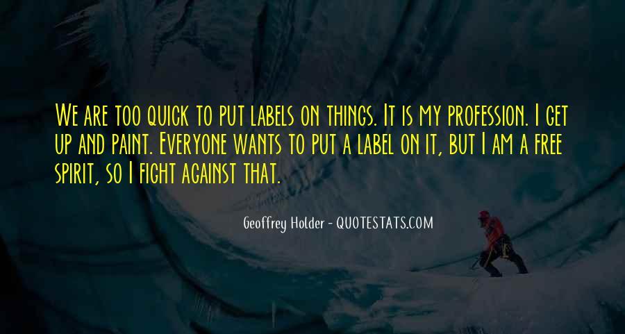 Geoffrey Holder Quotes #1552895