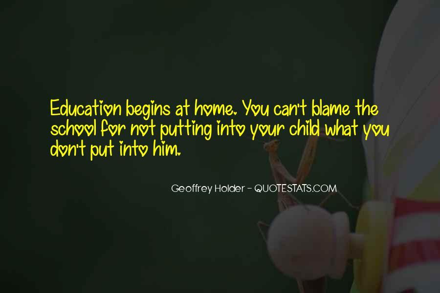 Geoffrey Holder Quotes #1614569