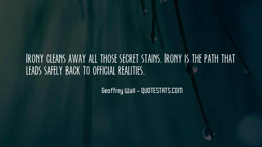 Geoffrey Wall Quotes #1122336