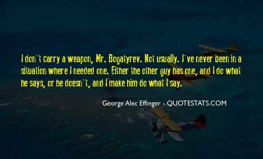 George Alec Effinger Quotes #492870