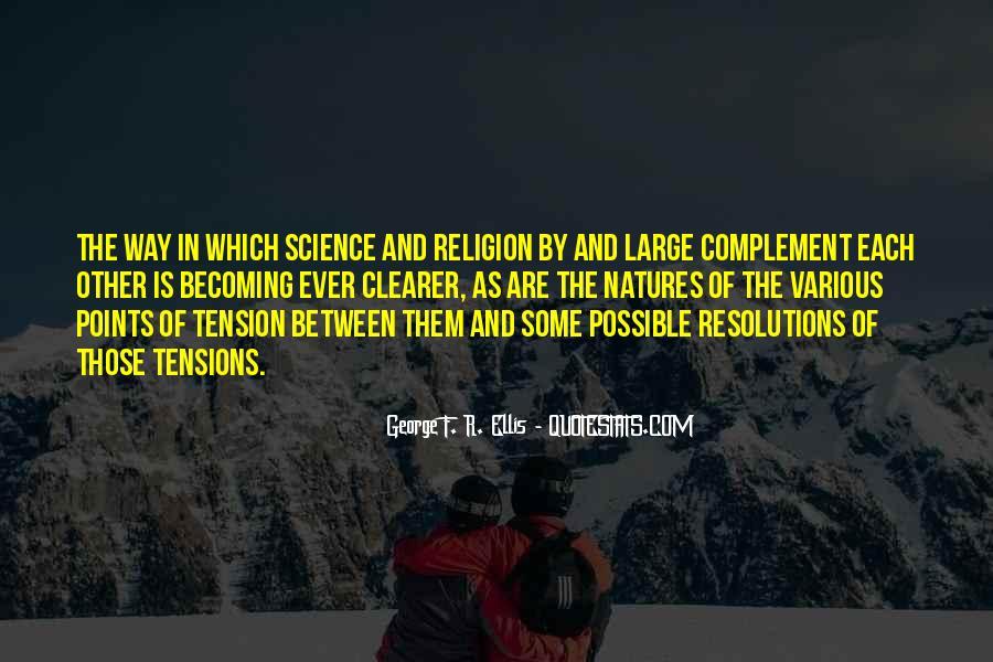 George F. R. Ellis Quotes #551775