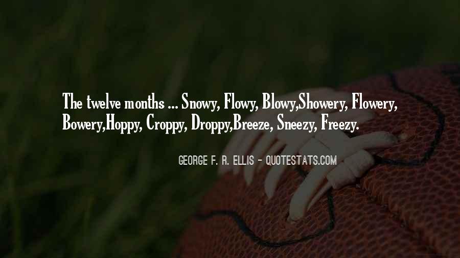 George F. R. Ellis Quotes #84914