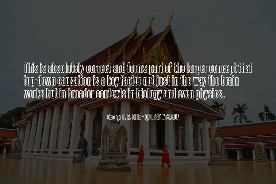 George F. R. Ellis Quotes #887754
