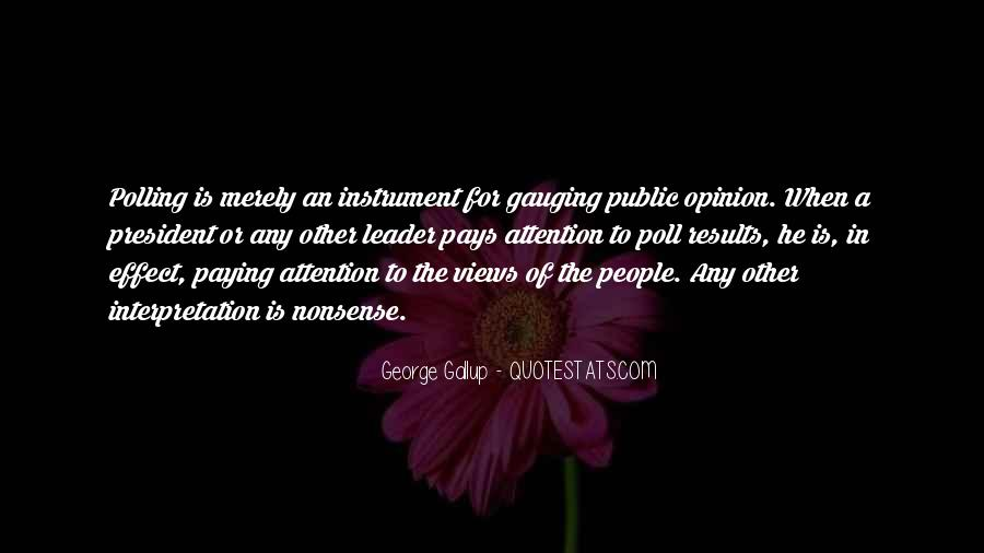 George Gallup Quotes #655180