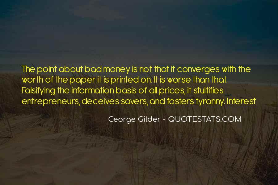 George Gilder Quotes #172047