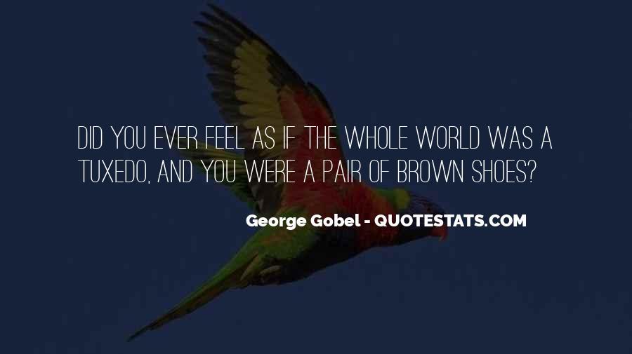 George Gobel Quotes #888335