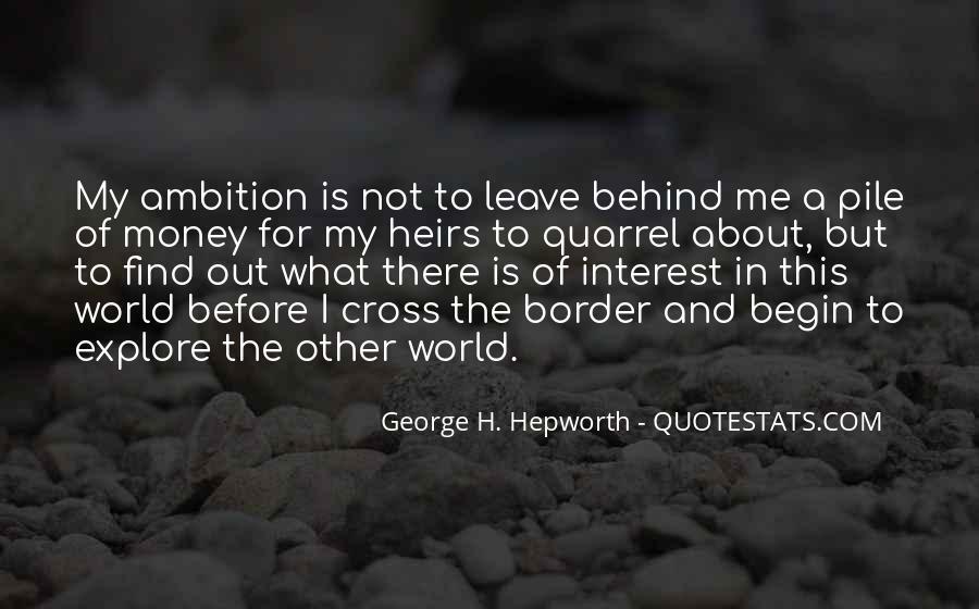 George H. Hepworth Quotes #1097540