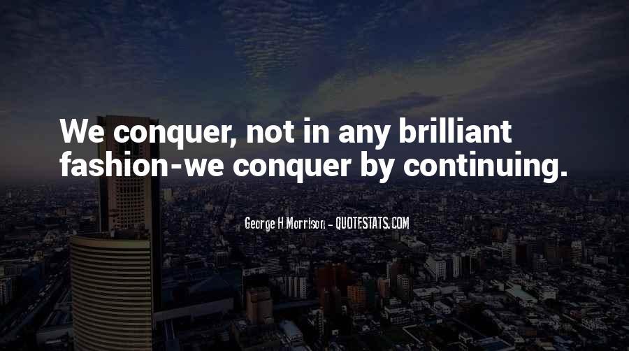 George H Morrison Quotes #1561468