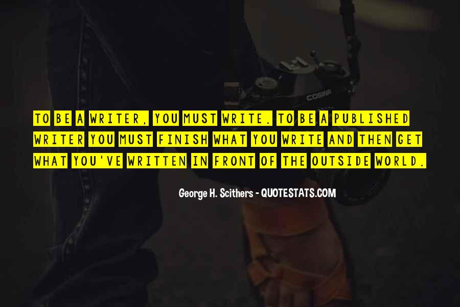 George H. Scithers Quotes #839176