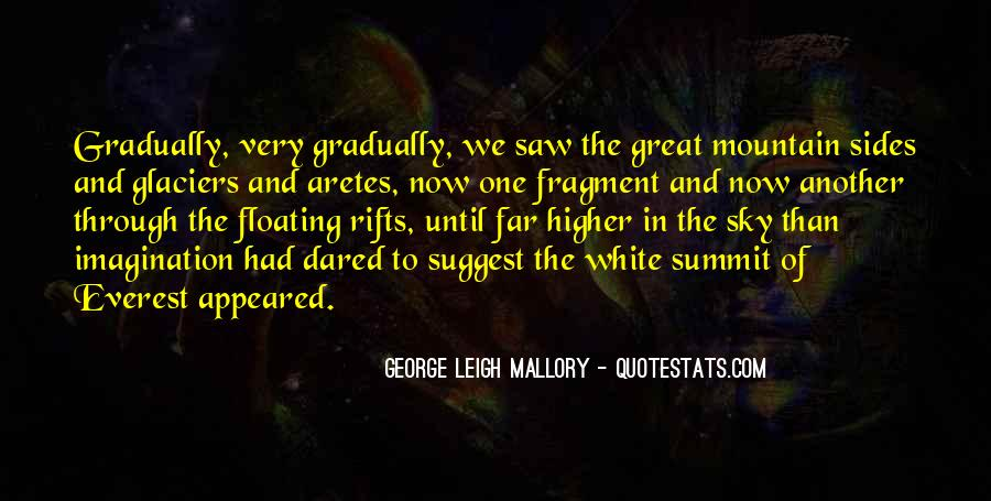 George Leigh Mallory Quotes #1408361