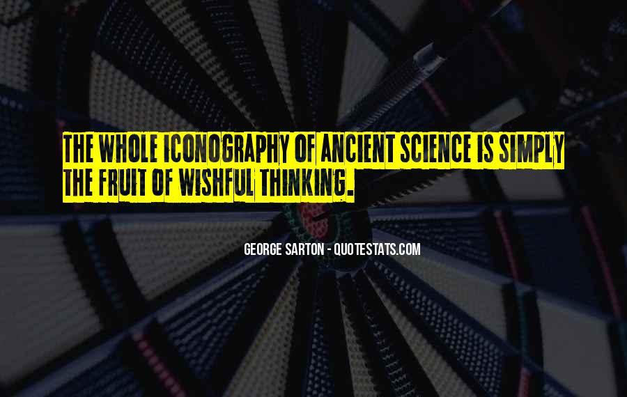 George Sarton Quotes #1308196