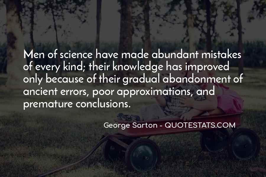 George Sarton Quotes #1519315