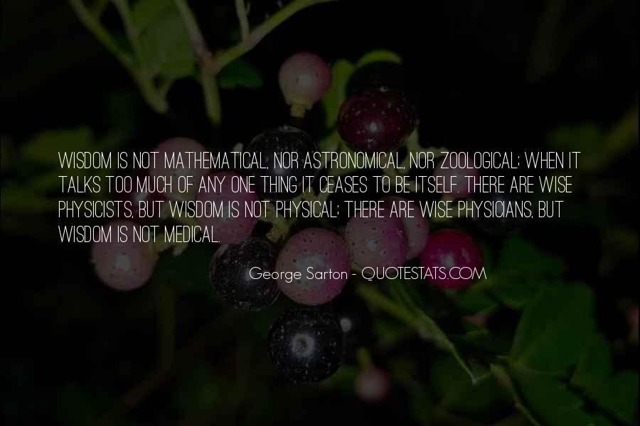 George Sarton Quotes #213007