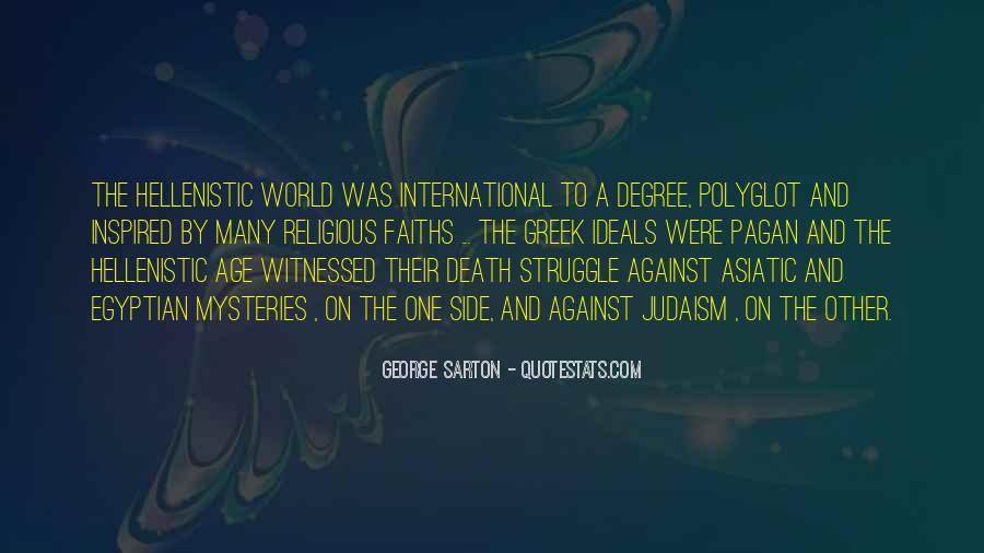 George Sarton Quotes #996530