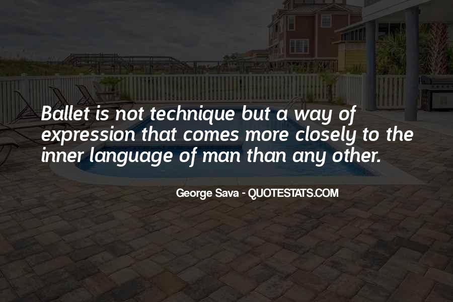 George Sava Quotes #174909