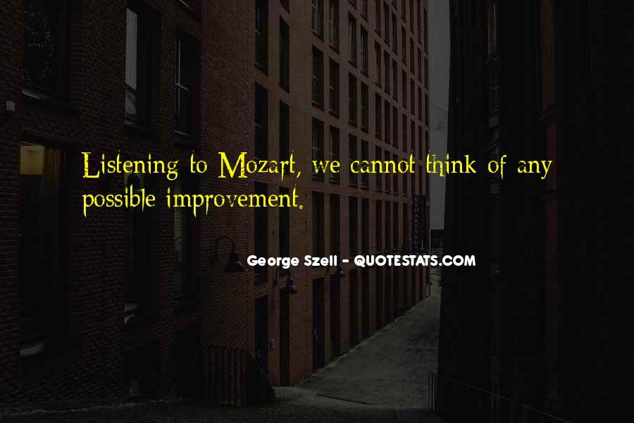 George Szell Quotes #141858